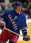 Foto Eishockey, Wayne Gretzky, New York Rangers