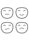 Malvorlage  Emotionen