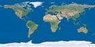 Foto Erde ohne Wolken auf dem Polareis