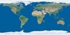 Foto Erde ohne Wolken