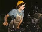 Foto Fabrikarbeiterin - 1942