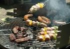 Foto Fleisch auf dem Barbeque