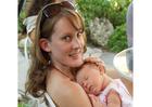 Foto Frau mit Baby