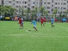 Foto Fussball spielen