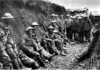 Foto Irische Fusiliere bei der Schlacht an der Somme