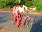Foto Kinder auf Fahrrad