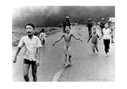 Foto Kinder nachdem Napalm Angriff