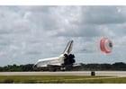 Foto landung des Space Shuttle