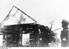 Foto Litauen - brennende Synagoge