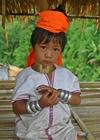Foto Mädchen aus Padaung