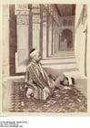 Foto Moslems in der Moschee von Dumas