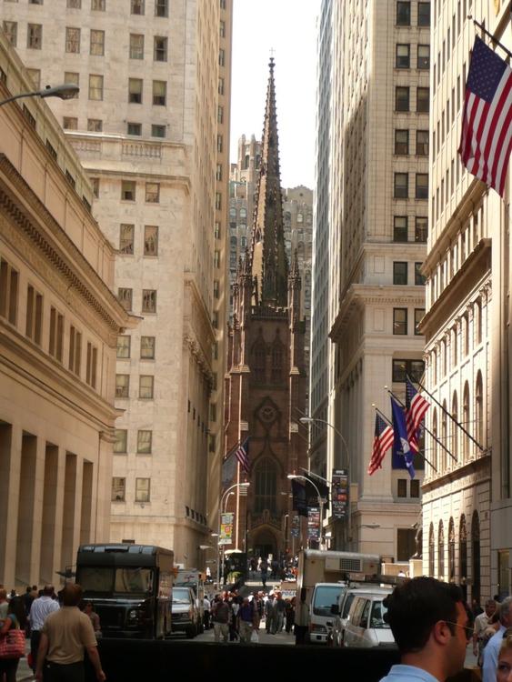 foto new york  wall street  kostenlose fotos zum