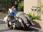 Foto Obdachloser Mann, Tokyo, 2008