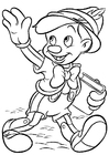 Malvorlage  Pinocchio
