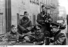 Foto Polen - Ghetto Litzmannstadt - deutsche Soldaten