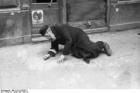Foto Polen - Warschauer Ghetto - alter Mann