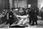 Foto Polen - Warschauer Ghetto - Holzarbeit