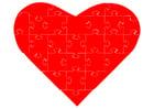 Bild Puzzle Herz
