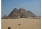 Foto Pyramiden in Gizeh