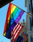 Foto Regenbogenflagge