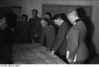 Foto Russland - Besprechung mit Hitler