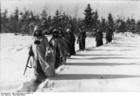 Foto Russland - Soldaten im Schnee