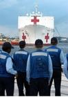 Foto Sanitätsschiff