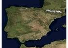 Foto Satellitenfoto Spanien