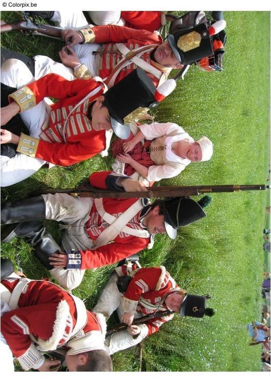 Foto Schlacht bei Waterloo : Abb. 8015.
