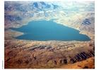 Foto See in der Wüste