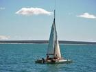 Foto Segelboot Katamaran