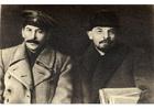 Foto Stalin und Lenin