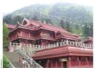 Foto Tempel auf Mount Emei