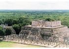 Foto Tempel der Krieger in Chichén Itzá