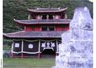 Foto Tempel im Dorf
