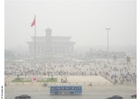 Foto Tien An Men Platz Smog