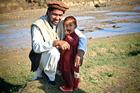 Foto Vater mit Sohn