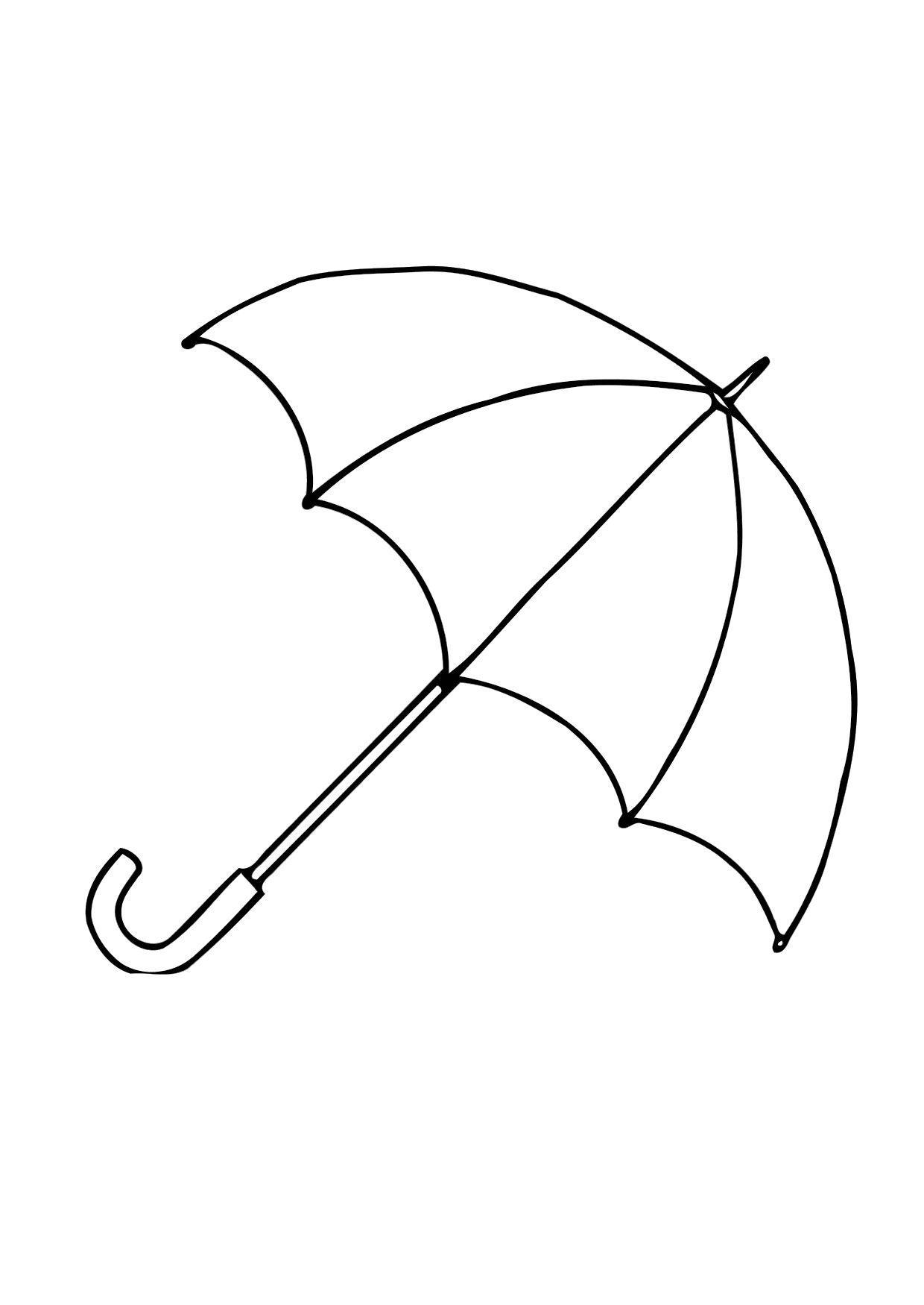 Charmant Malvorlagen Regenschirm Regen Galerie - Malvorlagen Von ...