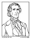 Malvorlage  10 John Tyler