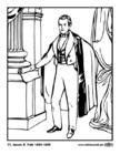 Malvorlage  11 James K. Polk