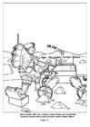 Malvorlage  13 Raumfahrtroboter