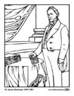 Malvorlage  15 James Buchanan