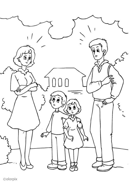 ausmalbilder bruder und schwester  kinder ausmalbilder