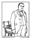 Malvorlage  25 William McKinley