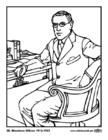 Malvorlage  28 Woodrow Wilson