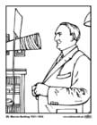 Malvorlage  29 Warren Harding
