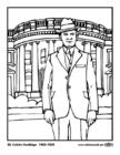 Malvorlage  30 Calvin Coolidge