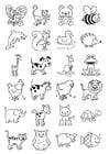 Malvorlage  Abbildungen für Kleinkinder