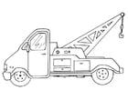 Malvorlage  Abschleppwagen