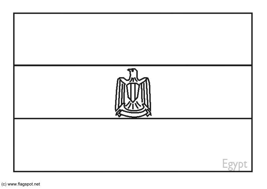 Erfreut Flagge Von ägypten Malvorlagen Bilder - Ideen färben ...